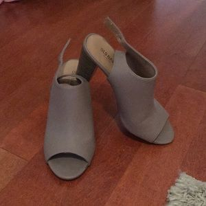 Old navy block heel - Taupe